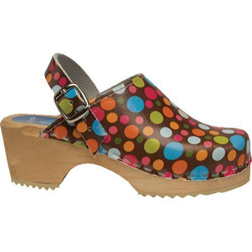 Girls' Cape Clogs Confetti Brown/Multi