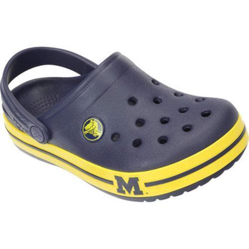 Children's Crocs Crocband Michigan Clog Nautical Navy