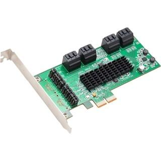 SYBA 8 Internal SATA III Ports PCI-Express Card, PCI-e x2 Slot