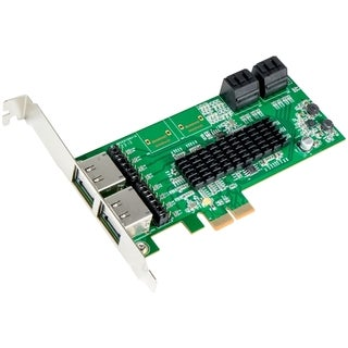SYBA 4 Internal + 4 External, 8 Ports PCI-Express x2 Slot