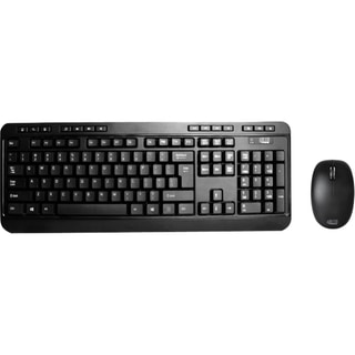 Adesso 2.4 GHz Wireless Desktop Keyboard & Mouse Combo