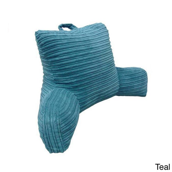 Hi Lo Plush Cord Bedrest Lounger