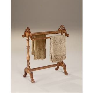 Hand-carved Vintage Oak Finished Blanket/ Quilt Stand|https://ak1.ostkcdn.com/images/products/8312641/8312641/Hand-carved-Vintage-Oak-Finished-Blanket-Quilt-Stand-P15627952.jpg?impolicy=medium