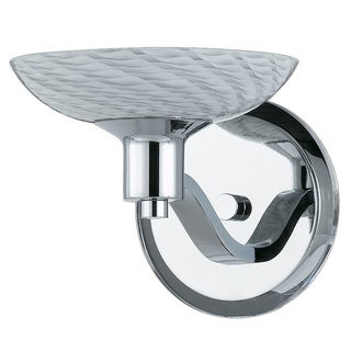 Contemporary 1-light Polished Chrome Wall Sconce