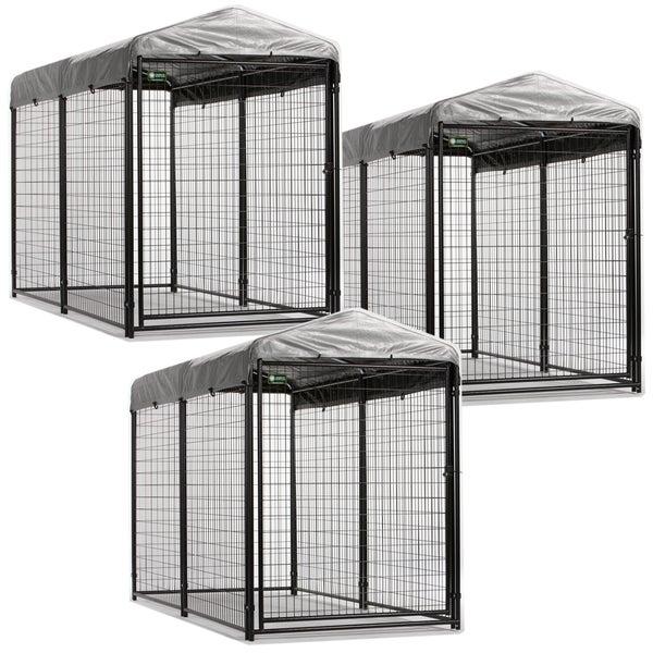 Shop Akc Modular Professional 3 Kennel Unit Cover System