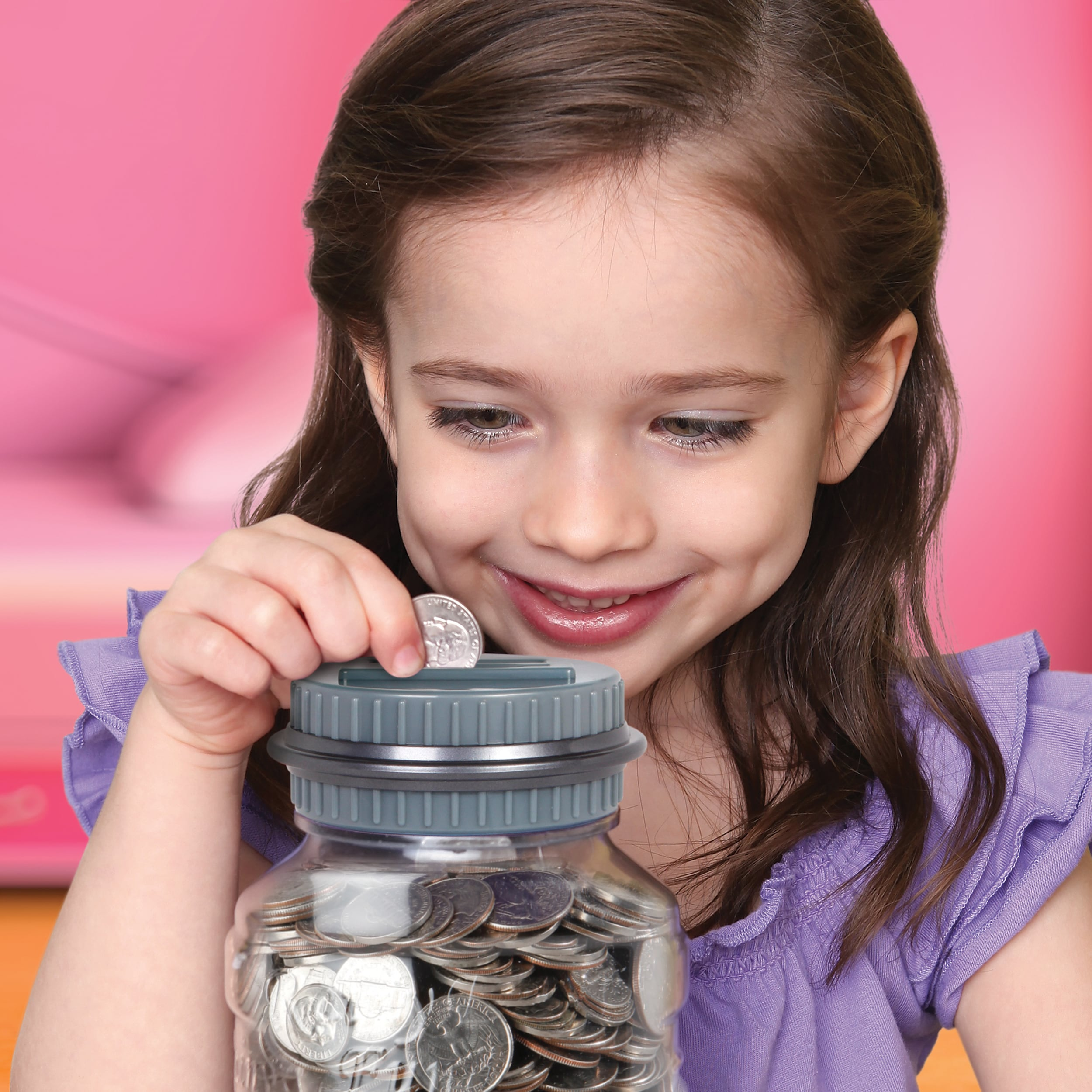 Shop Discovery Kids Coin Counting Money Jar Overstock 8312863