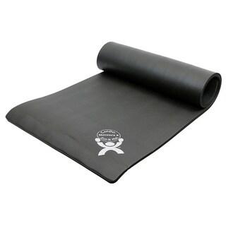 CanDo Sup-R Mat Venus Black Exercise Mat