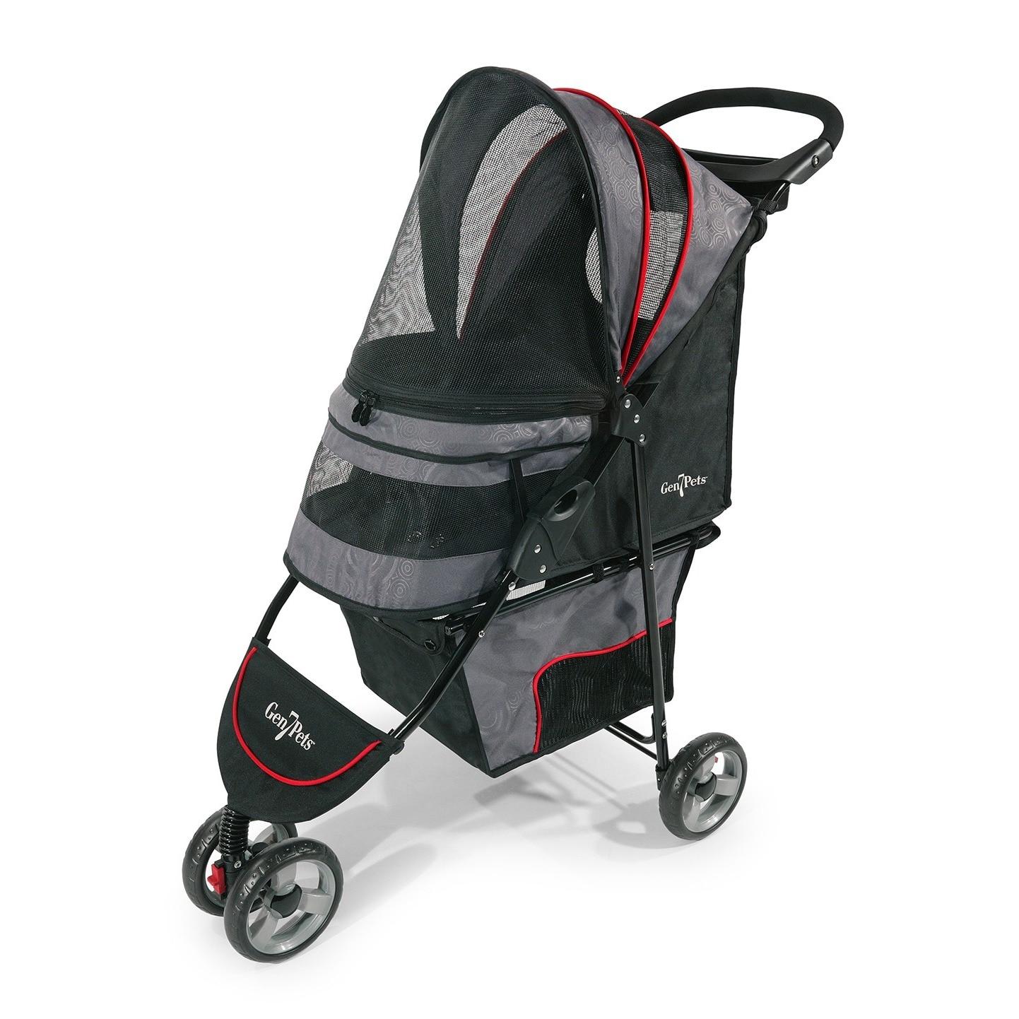 Gen7Pets Regal Pet Stroller (Gray Shadow), Grey, Size Medium
