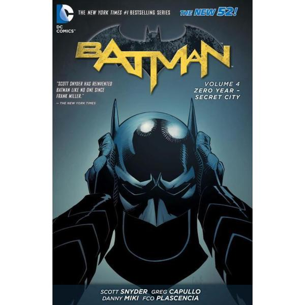 Batman 4: Zero Year-Secret City (Hardcover)