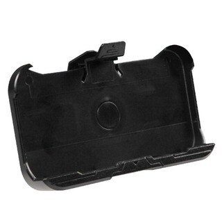 INSTEN Black Cyborg Hard Snap-in Holster Belt Clip for Apple iPhone 4/ 4S