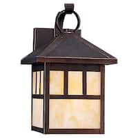 Single-Light Prarie Outdoor Wall Lantern