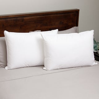 Hotel Madison Twill 300 Thread Count Gel Memory Fiber Pillow (Set of 2)