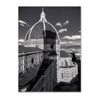 Giuseppe Torre 'Brunelleschi's Work' Canvas Art