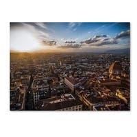 Giuseppe Torre 'Florence' Canvas Art - Multi