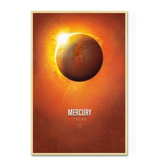 Christian Jackson 'Mercury' Canvas Art