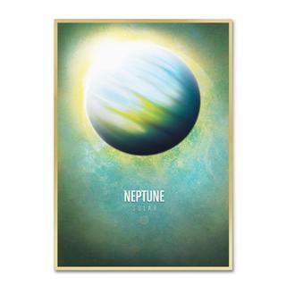 Christian Jackson 'Neptune' Canvas Art