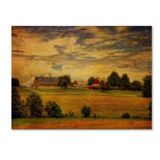 Lois Bryan 'Summer Farm' Canvas Art
