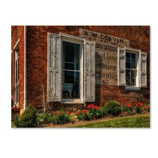 Lois Bryan 'Country Store' Canvas Art