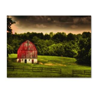 Lois Bryan 'Summer Evening On the Farm' Canvas Art