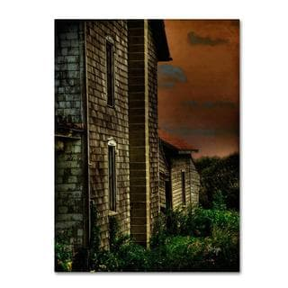 Lois Bryan 'Old Farmhouse' Canvas Art