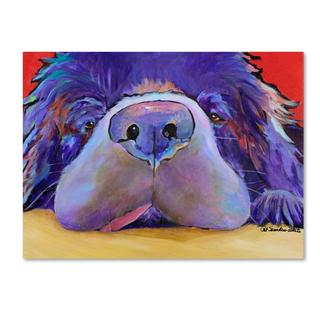 Pat Saunders 'Graysea' Canvas Art