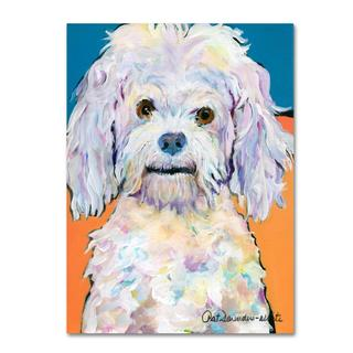 Pat Saunders 'Lulu' Canvas Art