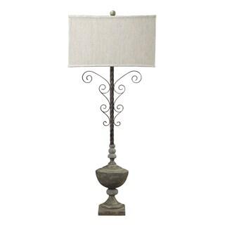 Dimond Lighting 1-Light Table Lamp in Montauk Grey Finish