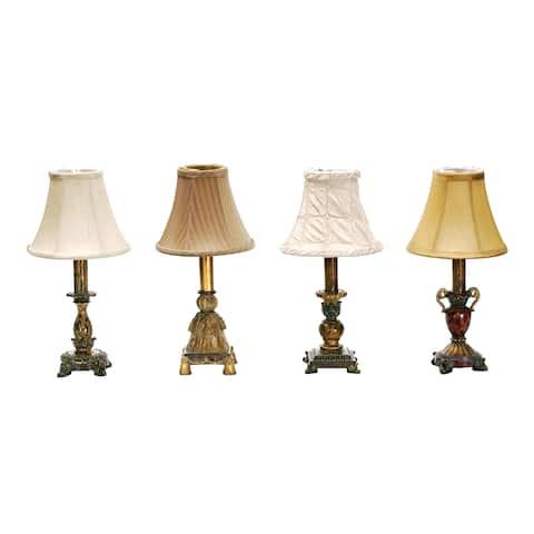 Dimond Lighting Set of Four 1-Light Table Lamps in Multi Finish