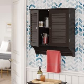RiverRidge Ellsworth 2-Door Wall Cabinet|https://ak1.ostkcdn.com/images/products/8316184/P15630889.jpg?impolicy=medium