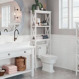 RiverRidge Home X-frame Bathroom Spacesaver|https://ak1.ostkcdn.com/images/products/8316196/P15630893.jpg?impolicy=medium