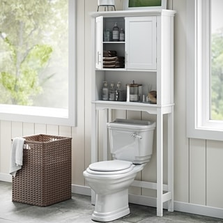 RiverRidge Home Somerset White Space-saver Cabinet