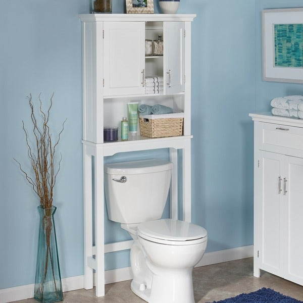RiverRidge Home Somerset White Space Saver Cabinet