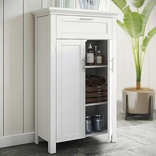 RiverRidge Home Somerset Two Door White Floor Cabinet