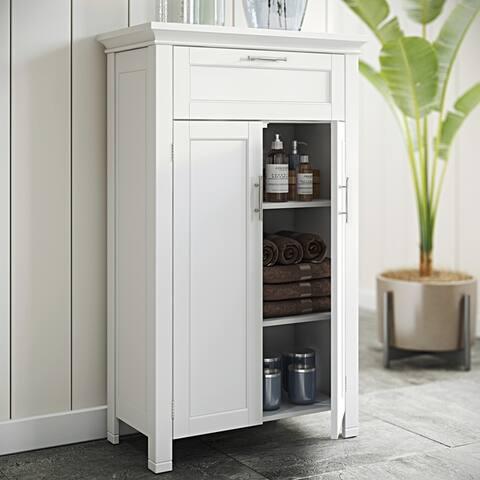 RiverRidge Home Somerset Two-door White Floor Cabinet