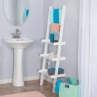 RiverRidge Home Ladder Shelf with Towel Bars. Bathroom Organization   Shelving For Less   Overstock com