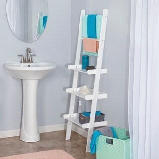 RiverRidge Ladder Shelf with Towel Bars