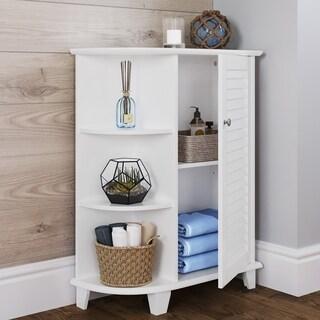 RiverRidge Home Ellsworth Cabinet with Side Shelves