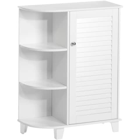 RiverRidge Ellsworth Cabinet with Side Shelves