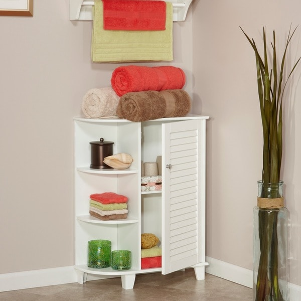 RiverRidge Home Ellsworth Cabinet with Side Shelves