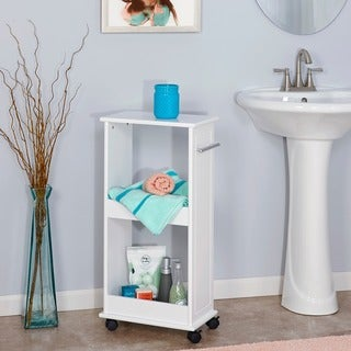 RiverRidge Home Rolling Side Cabinet