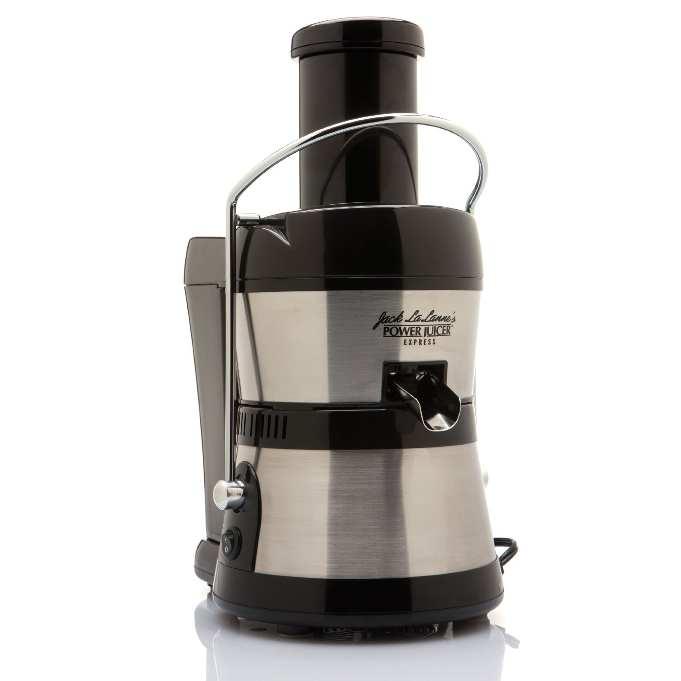 Jack Lalanne Stainless Steel Black Express Deluxe Power Juicer