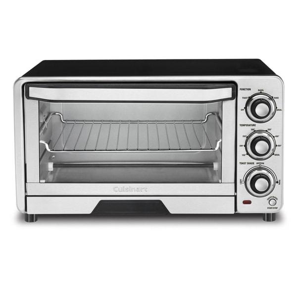 Cuisinart TOB-40FR Custom Classic Toaster Oven Broiler (Refurbished)