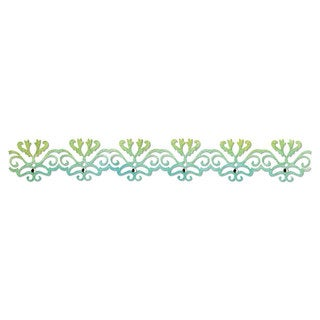 Sizzix Sizzlits Decorative Strip Die Filigree Border by Scrappy Cat