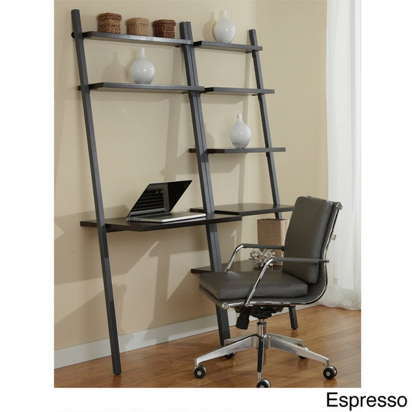 Jesper Office Ladder Desk with Bookcase - Free Shipping Today
