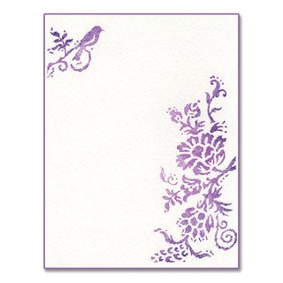 Sizzix Ink-its Rustic Elegant Flowers by Rachael Bright Letterpress Plate