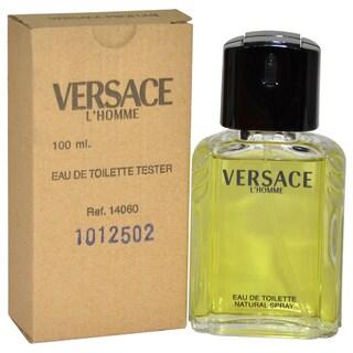 Versace L'Homme Men's 3.3-ounce Eau de Toilette Spray (Tester)