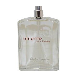 Salvatore Ferragamo 'Incanto' Men's 3.4-ounce Eau de Toilette Spray (Tester)