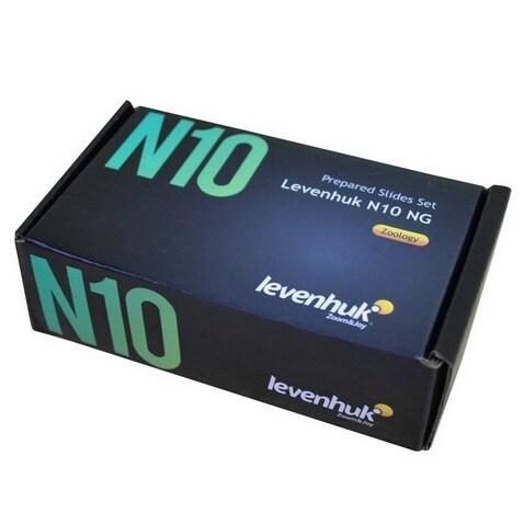 Levenhuk N10 NG Prepared Slides Set