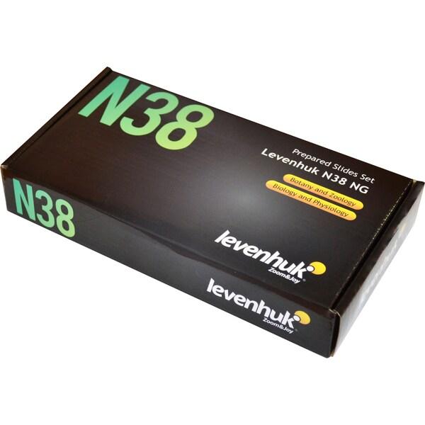 Levenhuk N38 NG Prepared Slides Set