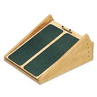 Wooden Incline Board with 5 to 25-degree Elevation (14 x 18 inches)